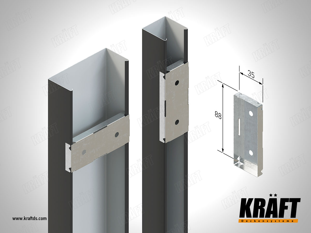 Universal fixing for KRAFT cube rail