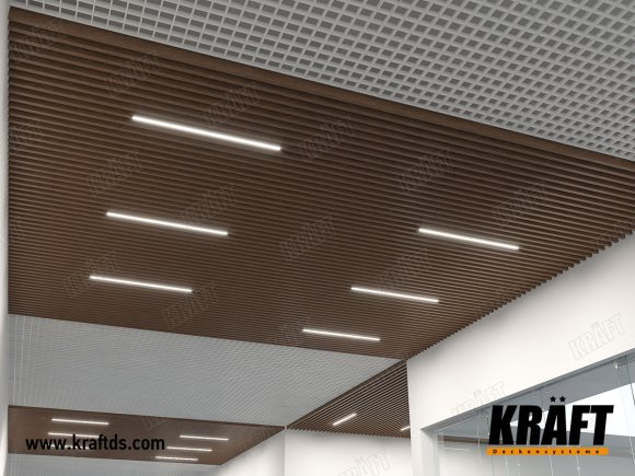 SEC Woodmall (classic grilyato, ceiling rail, KRAFT Led lamps)